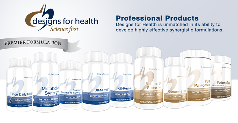 Designs For Health Products by Hammett Chiropractic & Functional Medicine
